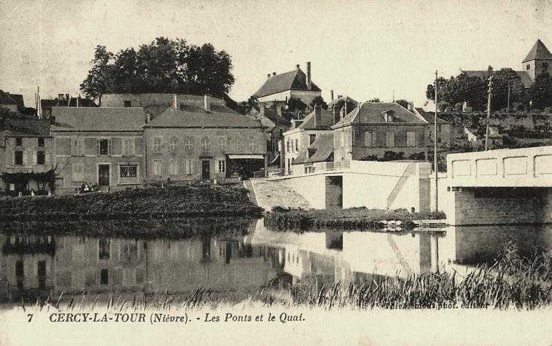 Cercy-la-Tour (Nièvre) Les ponts CPA