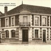 Cernay-en-Dormois (51) L'Hôtel Maucurier CPA