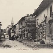 Cernay-en-Dormois (51) La grande rue CPA