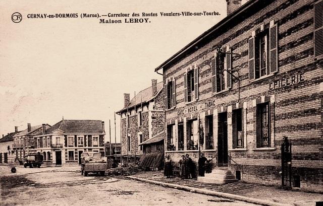 Cernay-en-Dormois (51) Le Café-Tabac CPA