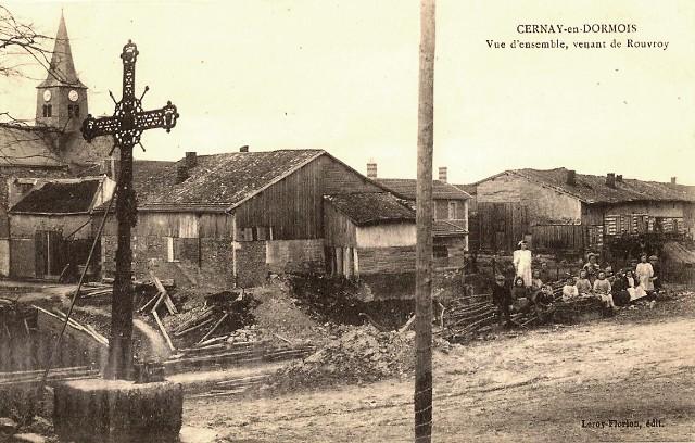 Cernay-en-Dormois (51) Le calvaire CPA