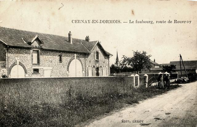 Cernay-en-Dormois (51) Le Faubourg CPA