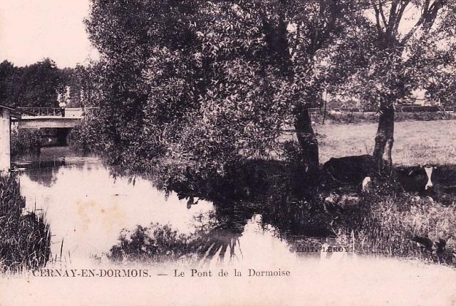 Cernay-en-Dormois (51) Le Pont de la Dormoise CPA