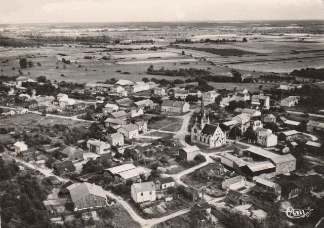 Cernay-en-Dormois (51) Vue générale CPA