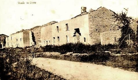 Cesse (Meuse) Ruines 1914/1918