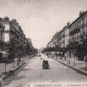 Chalon-sur-Saône (71) Boulevard de la République CPA