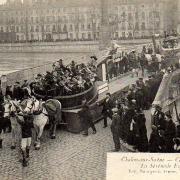Chalon-sur-Saône (71) Carnaval 1913 CPA