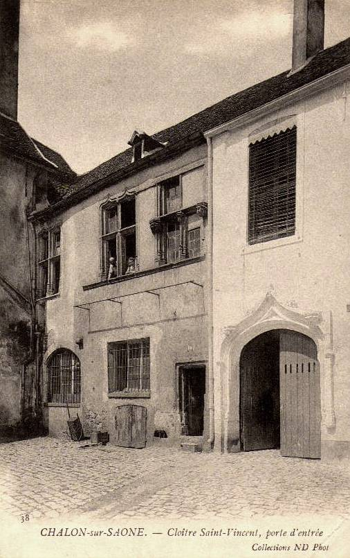 Chalon-sur-Saône (71) Cloître CPA