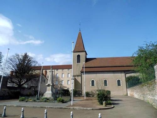 Chalon-sur-Saône (71) Eglise Saint-Jean-des-Vignes