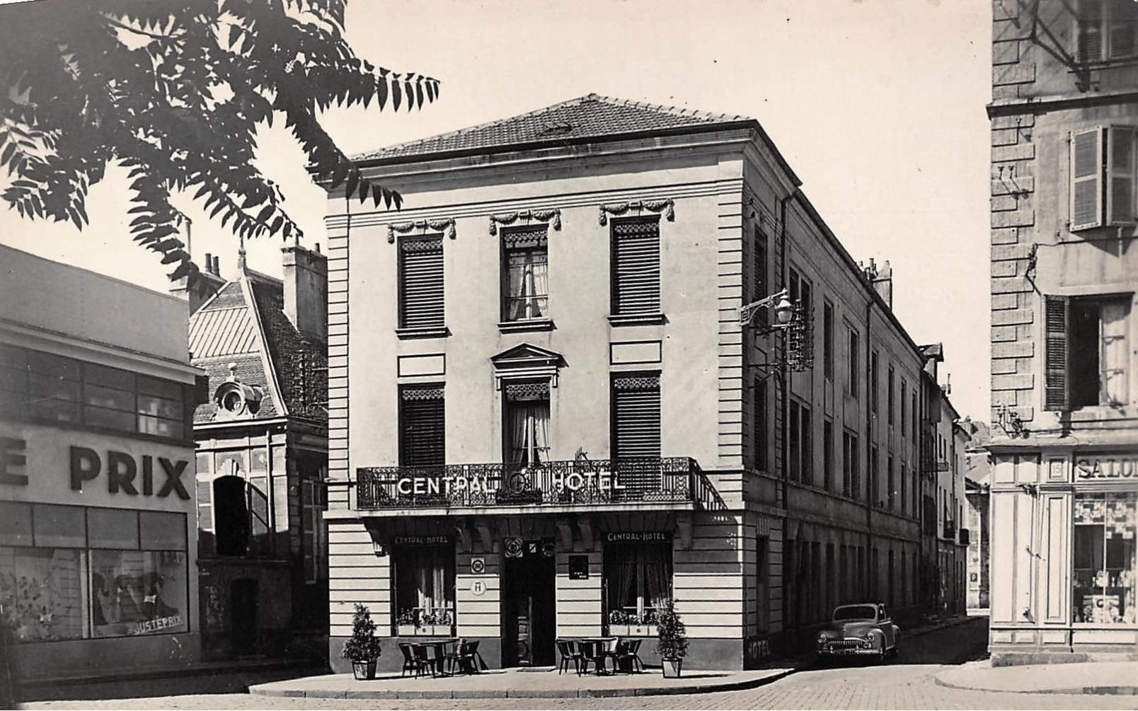 Chalon-sur-Saône (71) Hôtel Central CPA