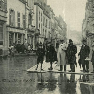 Inondations Chalon-sur-Saône