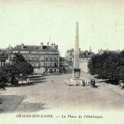 Chalon-sur-Saône (71) Obélisque CPA