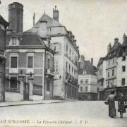 Chalon-sur-Saône (71) Place du Châtelet CPA