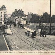 Chalon-sur-Saône (71) Pont de la Genise CPA