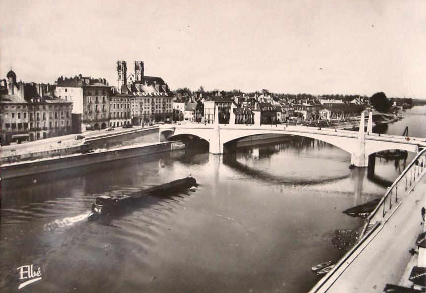 Chalon-sur-Saône (71) Pont Saint-Laurent CPA