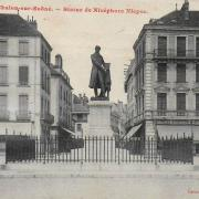 Chalon-sur-Saône (71) Statut Nicephore Niepce CPA