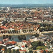 Chalon-sur-Saône (71) Vue aérienne