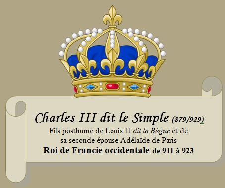 Charles III dit le Simple