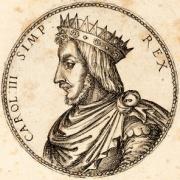 Charles III, estampe du XVIe