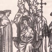 Charles III, premier mariage avec Frédérune de Rhingelheim