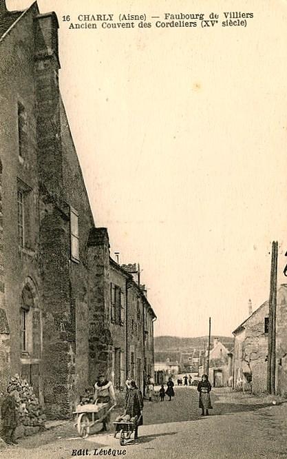 Charly-sur-Marne (Aisne) CPA Ancien couvent des Cordeliers