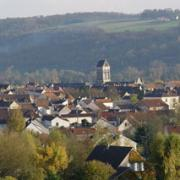 Charly-sur-Marne (Aisne) Vue panoramique