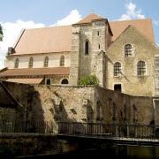 Chartres (28) L'ancienne collégiale Saint-André
