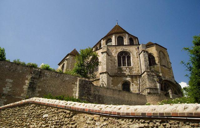 Chartres (28) L'église Saint-Aignan
