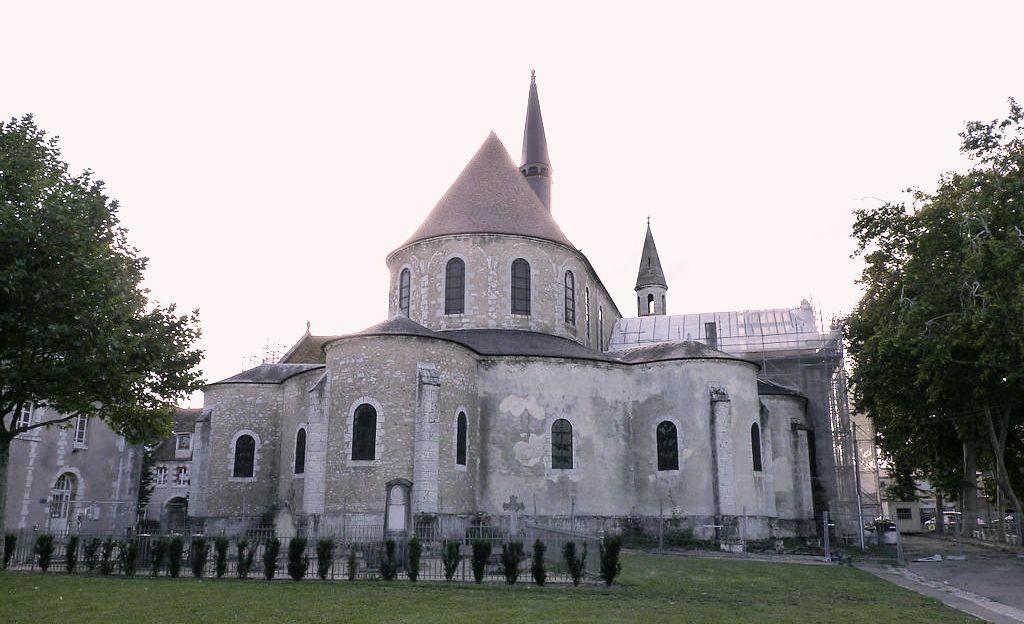 Chartres (28) L'église Saint-Martin-au-Val
