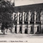 Chartres (28) L'église Saint-Pierre CPA