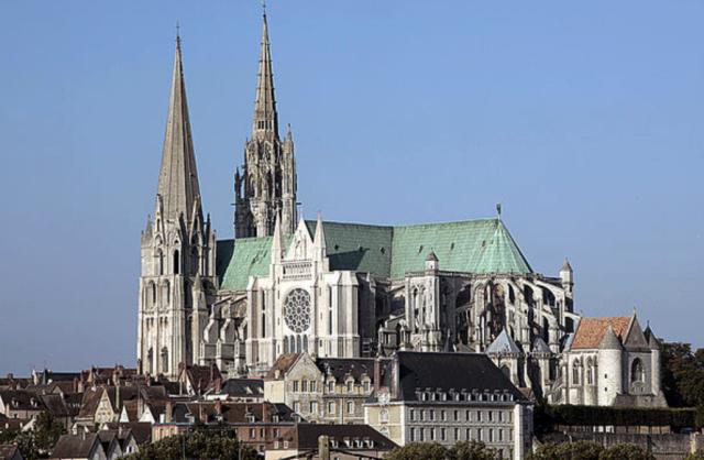 Chartres (28) La cathédrale
