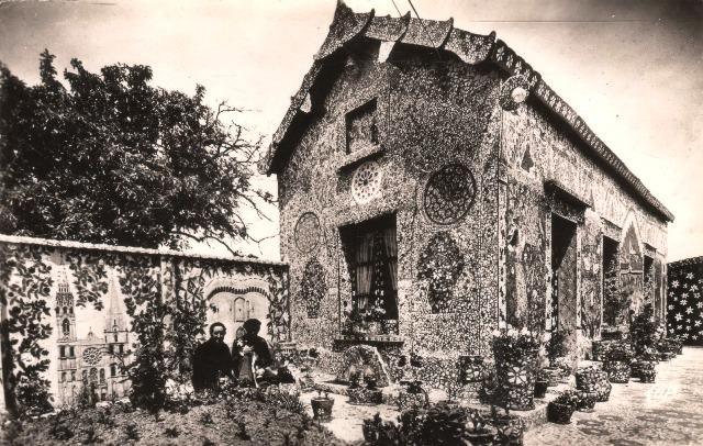 Chartres (28) La maison Picassiette CPA