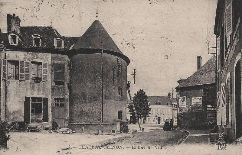 Château-Chinon (Nièvre)  CPA