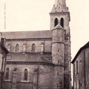 Château-Chinon (Nièvre) L'église Saint Romain CPA