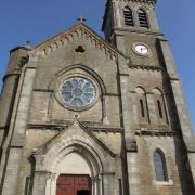 Château-Chinon (Nièvre) L'église Saint Romain