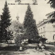 Château-Chinon (Nièvre) L'Hôpital CPA