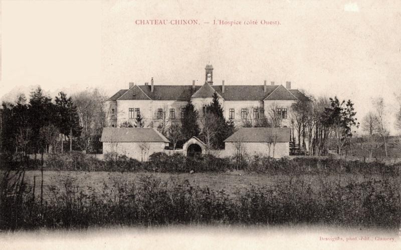 Château-Chinon (Nièvre) L'Hospice CPA
