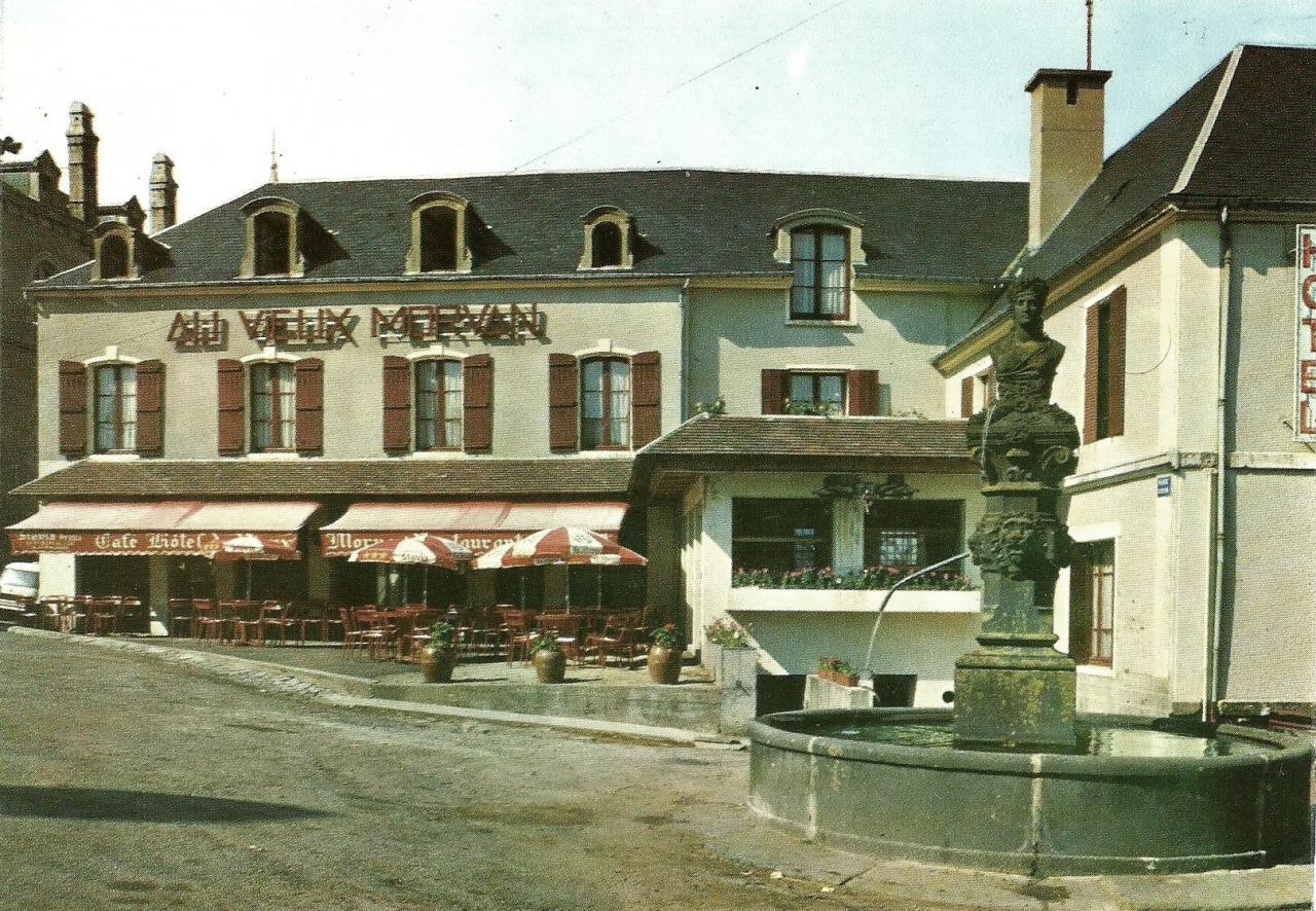 Château-Chinon (Nièvre) L'Hôtel du Vieux Morvan CPA
