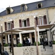 Château-Chinon (Nièvre) L'Hôtel du Vieux Morvan en 2014