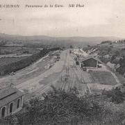 Château-Chinon (Nièvre) La gare CPA