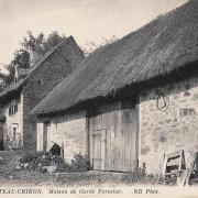 Château-Chinon (Nièvre) La maison du garde-forestier CPA
