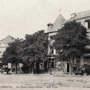 Château-Chinon (Nièvre) La place Notre-Dame CPA