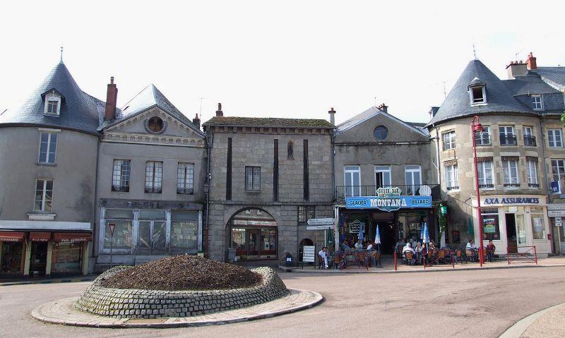 Château-Chinon (Nièvre) La porte Notre-Dame