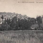 Château-Chinon (Nièvre) Vue générale CPA