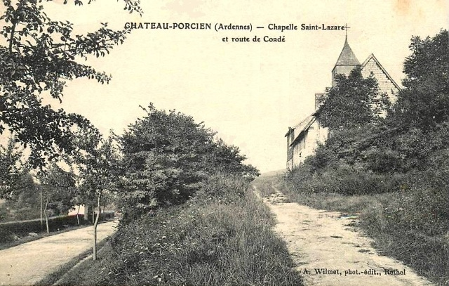 Château-Porcien (08) Chapelle Saint-Lazare CPA