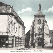 Château-Porcien (08) Eglise CPA