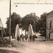 Château-Porcien (08) Pont sur l'Aisne CPA
