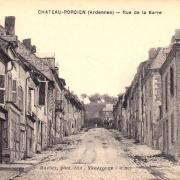 Château-Porcien (08) Rue de la Barre CPA