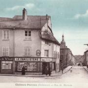 Château-Porcien (08) Rue de Morteau CPA