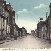 Château-Porcien (08) Rue de Sommevue CPA